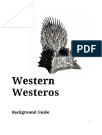 Western Westeros Background Guide