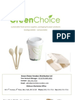 Green Choice Vendors Distribution Online Catalog 04-2009