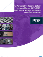 World Automotive Passive Safety Systems Market 2013-2023
