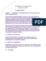 MC 1-Guidelines on the Registration of Name Hires (Series 2003)