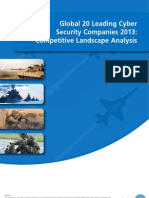 Global 20 Leading Cyber Security Companies 2013 Competitive Landscape Analysis