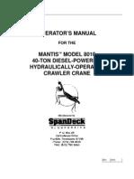 8010 Operators Manual