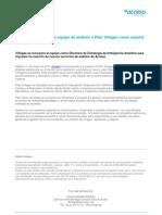 Acceso incorpora a su equipo de análisis a Pilar Villegas como experta en Reputación