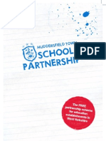 School Partnership Brochure 2013