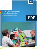 ACC How to Implement Safer Workplace Practices