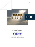 El Nombre de Yahweh