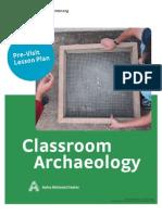 Classroom Archaeology