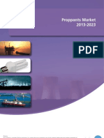The Proppants Market 2013-2023