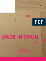 """Made in Spain"" – Masters en diseño de calzado/EOI 2013"