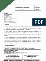 NBR 10083 NB 973 - Elevador de Degrau Sobre Esteira