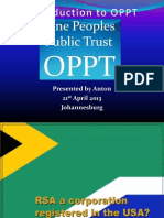 Introduction to OPPT Slides