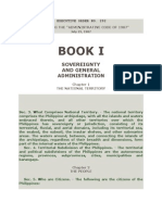 BOOK I- Sovereignty and General Administration
