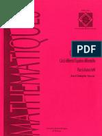 Yoccoz J.-c.-Cours de Topologie Calcul Differentiel, Equations Differentielles Pour La Licence MAF-Paris Onze Editions(1994)
