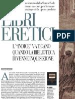Libri Eretici, La Storia Di Come Nacque Il Catalogo Delle Opere Proibite - La Repubblica 21.05.2013