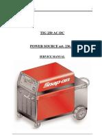 Tig250gas Service Manual