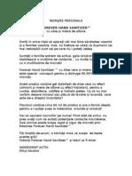 Manual Hand Sanitizer
