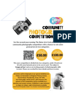 Photo Competition 2013 - The Noise Arts Festival