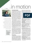 NLP in motion
