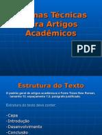 Normas Tecnicas Para Artigos Academicos