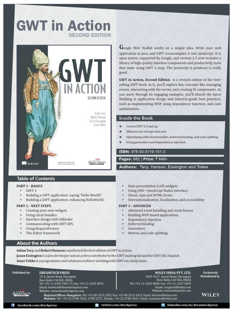 GWT in Action, Second Edition | Java Script | Uniform