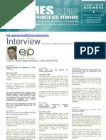 Interview MES Pharma - Mr Roche ESP