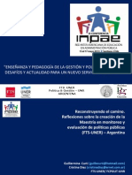 Presentación -INPAE 2013