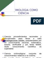 Victimologia Una Ciencia