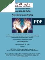 Qi Gong Workshop Flyer 06-11-2011