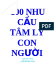 Cafebook.info 100 Nhu Cau Tam Ly Con Nguoi