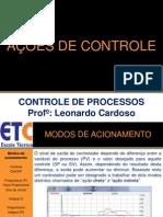 CONTROLE (Ações de Controle)