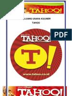 Proposal-Franchise TAHOO Mei 2013