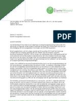 20130521 2013 Brief TK Energiebesparing Geb. Omgeving Energielabel