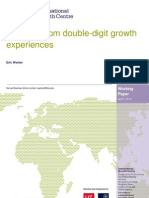 Learning from Double-Digit Growth Experiences