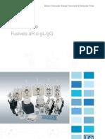 WEG Fusiveis Ar e Gl Gg 50009817 Catalogo Portugues Br