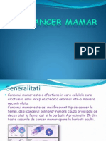 Cancer Mamar