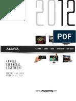 2013-05-15 Rapport De Gestion Annuel