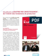 Fondations de production - Christian Saint-Etienne et Robin Rivaton