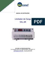 Manual Limitador de Carga VKL-3R