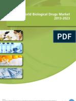 World Biological Drugs Market 2013-2023