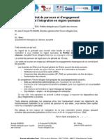 Roms 2013 Contrat de Parcours Reglements - V3 Pour Signature