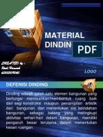 Material Dinding