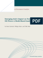 Emerging Asia's Impact on Food and Oil Prices Dp09-3