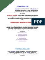 Descripciones de Los Diferentes Sitios Web (1) DANIELA AGUDELO