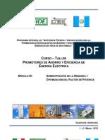 003 Módulo III (Demanda - Optimización Factor Potencia)