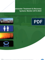 The Wastewater Treatment & Recovery Systems Market 2013-2023