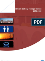 The Grid Scale Battery Storage Market 2013-2023