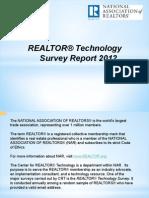 Realtor Technology Survey Report 2013 05