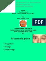 Guidline Myastenia Gravis 2010
