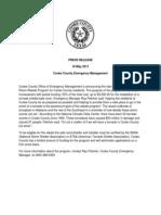 Safe Room Press Release