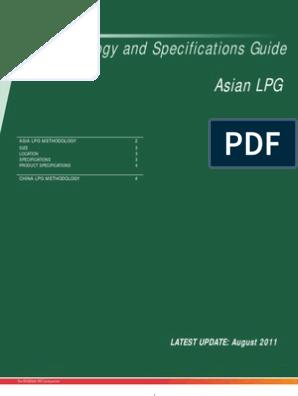 lpg specification | Liquefied Petroleum Gas | Propane